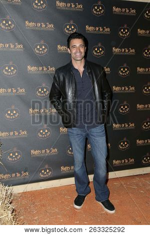 LOS ANGELES - OCT 10:  Gilles Marini at the Nights Of The Jack Halloween Activation Launch Party at the King Gillette Ranch on October 10, 2018 in Calabasas, CA