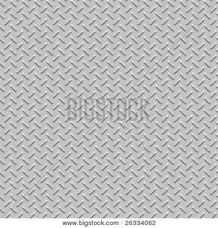 Diamond plate metal seamless texture background
