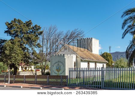 Wolseley, South Africa, August 8, 2018: The St. Johns Baptist Church, In Wolseley In The Western Cap