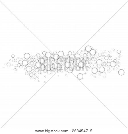 Mineral Bubbles Icon. Realistic Illustration Of Mineral Bubbles Vector Icon For Web Design