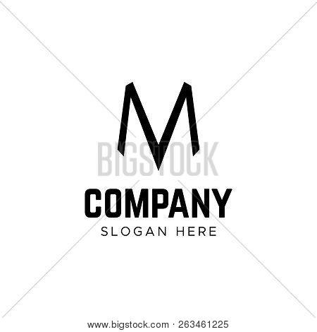 Letter Logo. M Letter Logo. Minimalism M Logotype
