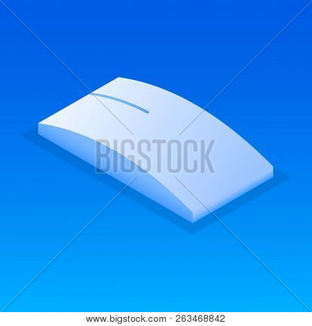 Wireless Mouse Icon. Isometric Of Wireless Mouse Vector Icon For Web Design Isolated