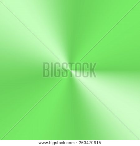 Green Conical Gradient With The Effect Of A Mettalic Plate