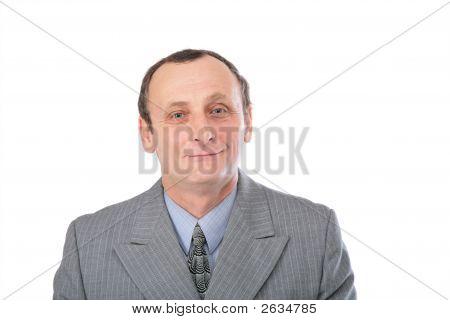 Man In Grey Suit 2