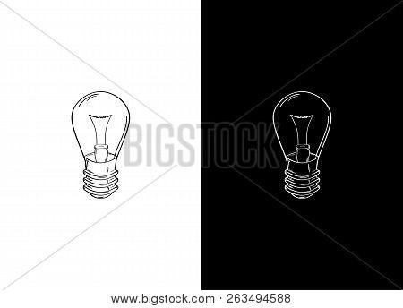 Sketch Of The Light Bulb