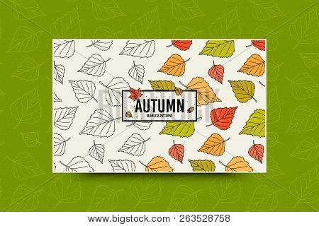 leaf fall images illustrations vectors free bigstock