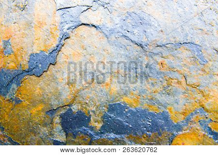 Rusted Metal Background As Template For Creative Projects