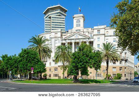 Government Building (military Commandant's Office, Comandancia Naval De Barcelona, Sector Naval De C