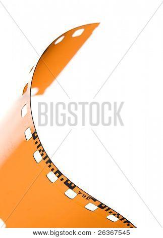 35 mm blank film strip