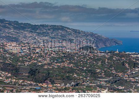 Impressive Mountain Cabo Girao View From Town Camara De Lobos