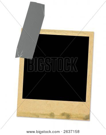 Old Photo Frame Taped