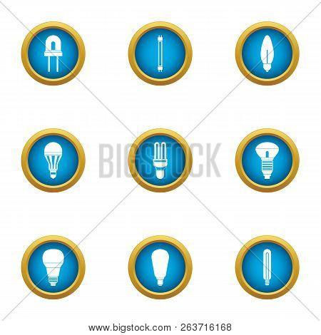 Ignite Icons Set. Flat Set Of 9 Ignite Vector Icons For Web Isolated On White Background