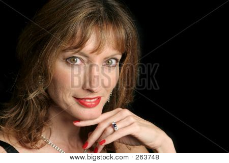 Elegant Beauty - Flirting