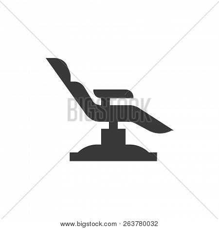 Dentist Chair Vector Icon On White Background. Dentist Chair Icon In Modern Design Style. Dentist Ch