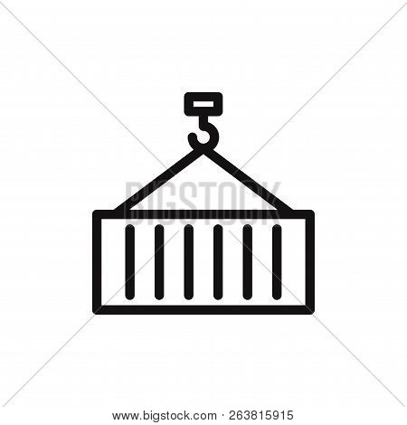 Container Icon Isolated On White Background. Container Icon In Trendy Design Style. Container Vector