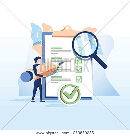 Concept People Fill Out A Form, Application Form For Employment. People Select A Resume For A Job Fo