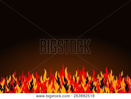 Fire Image Vector Background, Fire Image Color, Flame Image Vector Eps10