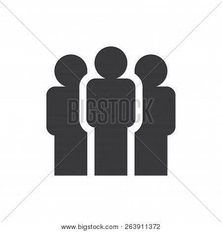 Group Vector Icon On White Background. Group Icon In Modern Design Style. Group Vector Icon Popular