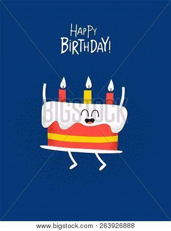 Fine Funny Happy Birthday Vector Photo Free Trial Bigstock Funny Birthday Cards Online Alyptdamsfinfo