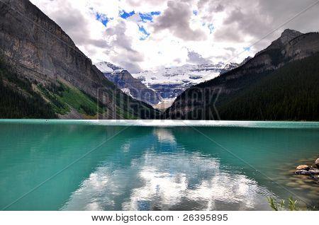 Lake Louise amazing reflections