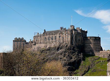 Edinburgh Castle - Southern Aspect