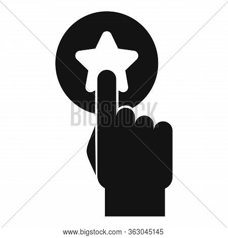Campaign Push Button Icon. Simple Illustration Of Campaign Push Button Vector Icon For Web Design Is