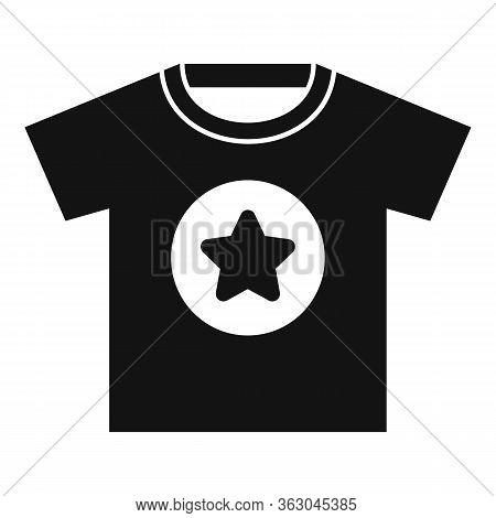 Advertising Tshirt Icon. Simple Illustration Of Advertising Tshirt Vector Icon For Web Design Isolat