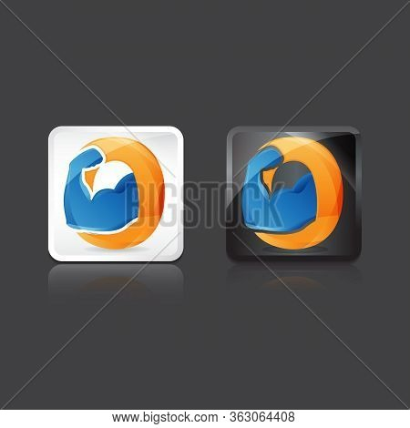 Muscles Icon Vector. Trendy Flat Muscles Icon From Gym And Fitness Collection Isolated On White Back