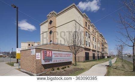 Scarborough, Ontario, Canada - 10/09/2010: Long-term Care For Seniors - Mon Sheong Scarborough Long