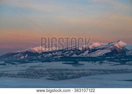 Western Tatras (Rohace) in winter time, Slovakia