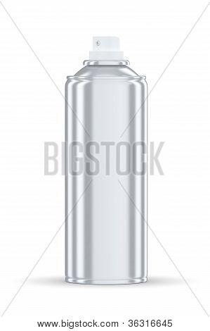 Grey Spraycan Standing