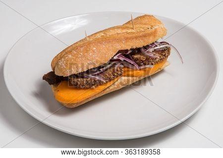Sandwich With Chicharron