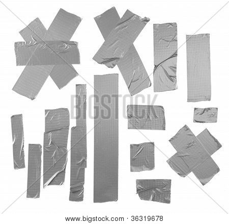 Duct Tape Patterns Isolated