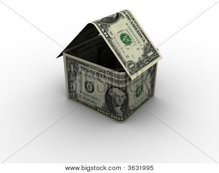 Dollar House In 3D