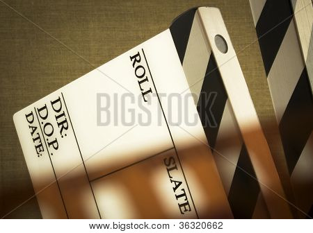 Clapboard And Tape