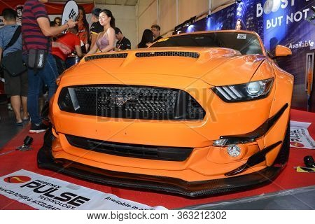 Pasig, Ph - May 5 - Ford Mustang At Hot Import Nights Car Show On May 5, 2019 In Pasig, Philippines.