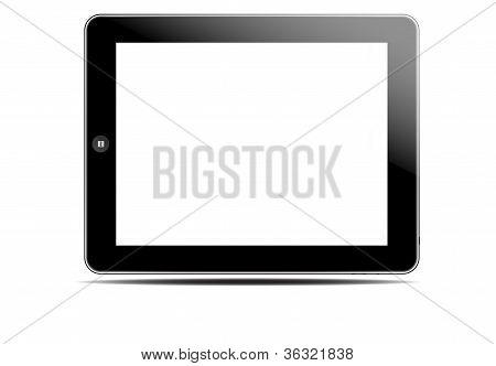 Blank Screen Black Tablet Pc