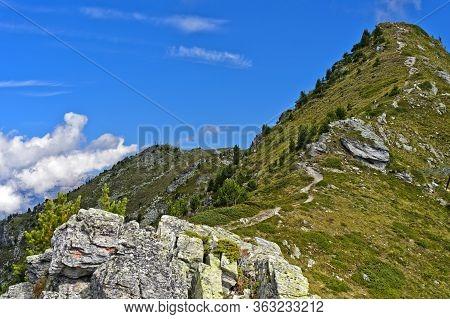 Ascent To The Peak Dent De Nendaz, Nendaz, Valais, Switzerland