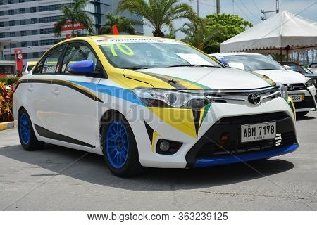 Pasay, Ph - May 26 - Toyota Vios At Toyota Carfest On May 26, 2019 In Pasay, Philippines.