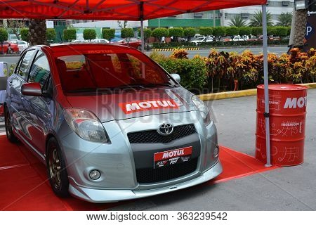 Pasay, Ph - May 26 - Toyota Yaris At Toyota Carfest On May 26, 2019 In Pasay, Philippines.
