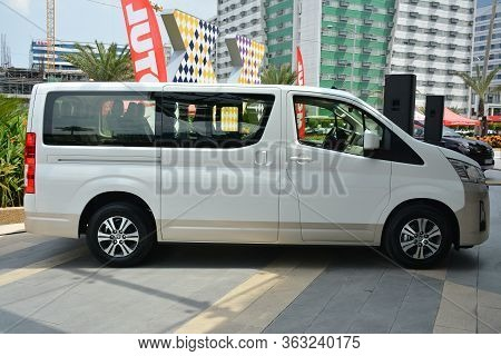 Pasay, Ph - May 26 - Toyota Hiace Van At Toyota Carfest On May 26, 2019 In Pasay, Philippines.