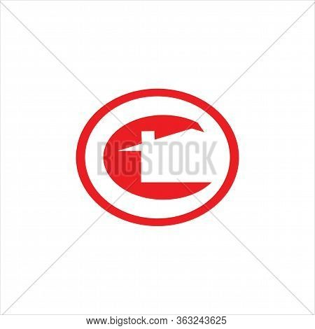 Letter C Vector Design Of Real Estate Logos. Vector Logo Of Home C Initial. Icon C Is Isolated On Th