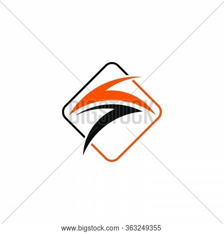 Flash Thunderbolt Logo Concept, Electric, Power, Energy, Initial Letter S Graphic Logo Template.