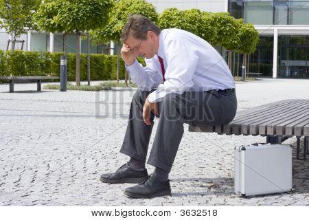 Sorrowful Businessman