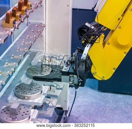 Robotic and Automation system control application on automate robot arm