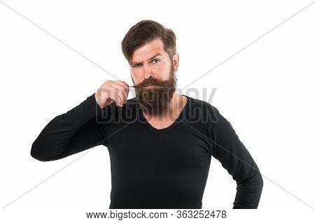 Individual Beard Styles. Maximum Length You Can Genetically Grow. Caucasian Guy Long Beard. Bearded