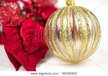 Red And Gold Christmas