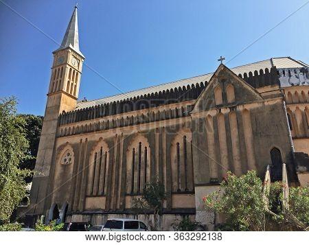 Church On The Beautiful African Island Sansibar