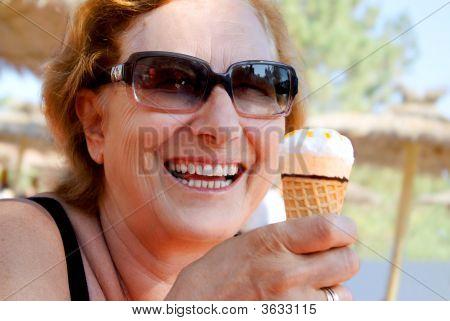 Icecream Woman
