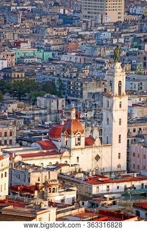 Convento & Iglesia Del Carmen, Havana - Aerial View